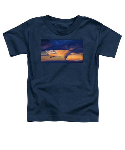 Peeling Back The Layers Toddler T-Shirt by Clare Bambers
