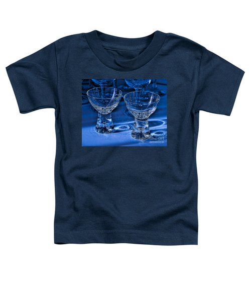 Reflections In Blue Toddler T-Shirt