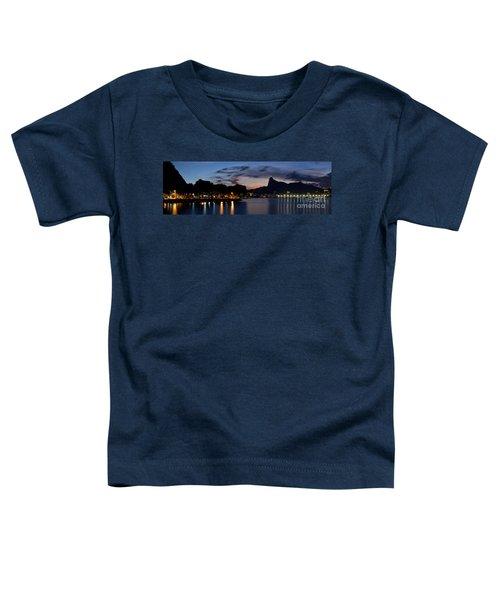 Rio Skyline From Urca Toddler T-Shirt