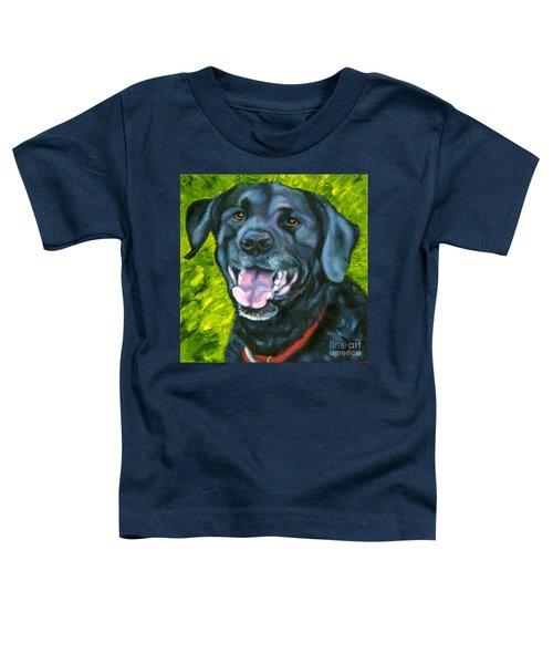 Smiling Lab Toddler T-Shirt