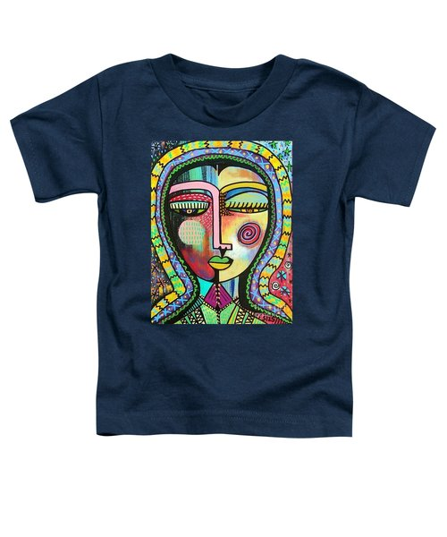 -talavera Virgin Of Guadalupe Protection Toddler T-Shirt
