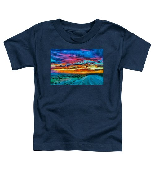 Taos Sunset Iv Wc Toddler T-Shirt