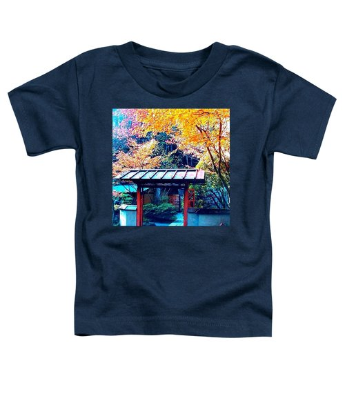 Tea House Gate In The Fall Toddler T-Shirt