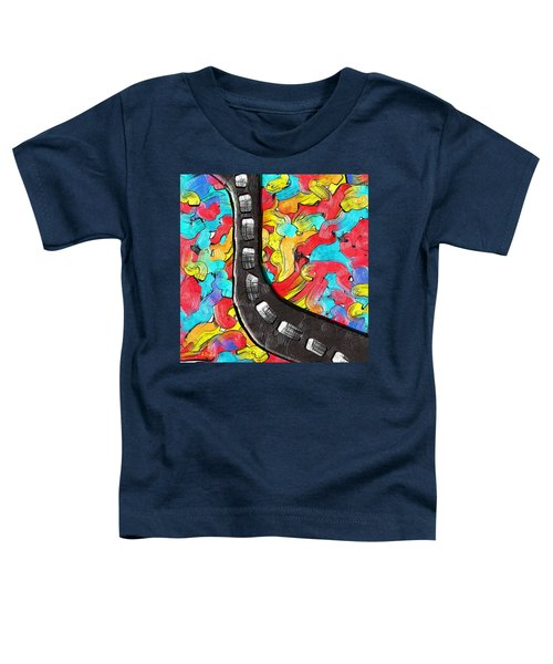 The Color Highway Toddler T-Shirt