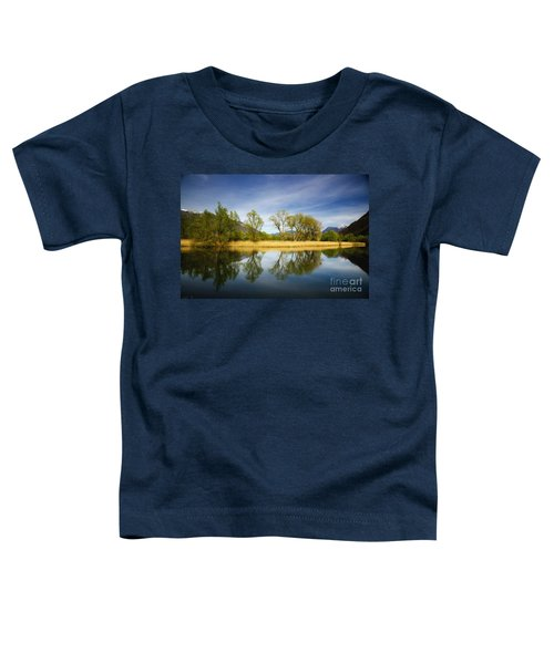 Trees Reflections On The Lake Toddler T-Shirt