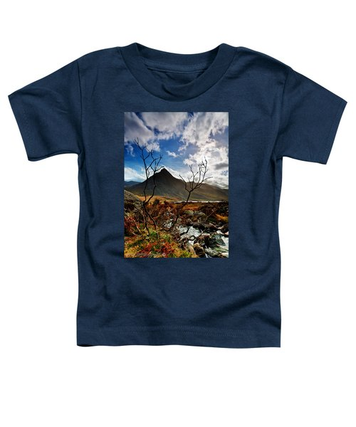 Tryfan And Tree Toddler T-Shirt