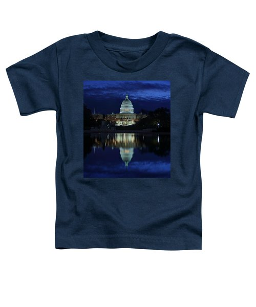 Us Capitol - Pre-dawn Getting Ready Toddler T-Shirt