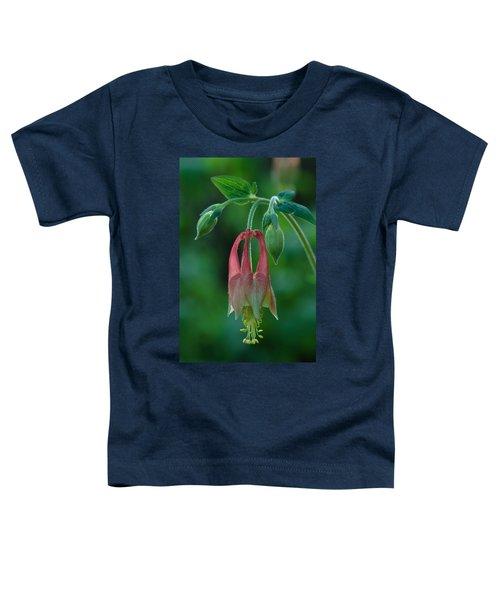 Wild Columbine Flower Toddler T-Shirt