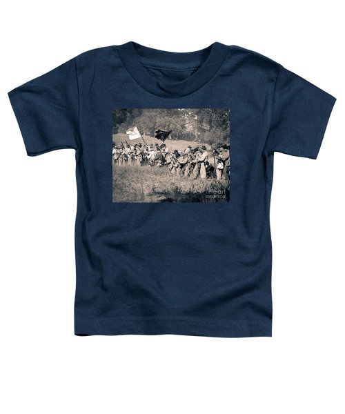 Gettysburg Confederate Infantry 9281s Toddler T-Shirt