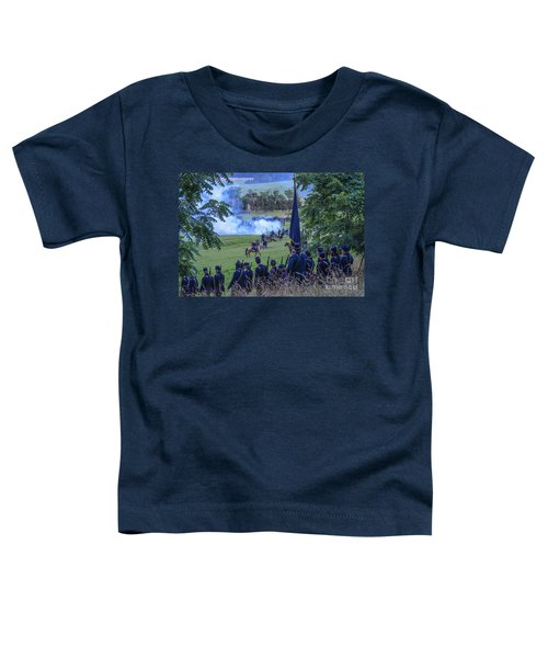 Gettysburg Union Artillery And Infantry 7457c Toddler T-Shirt