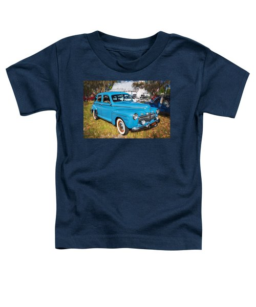 1942 Ford Super Deluxe Sedan Painted  Toddler T-Shirt