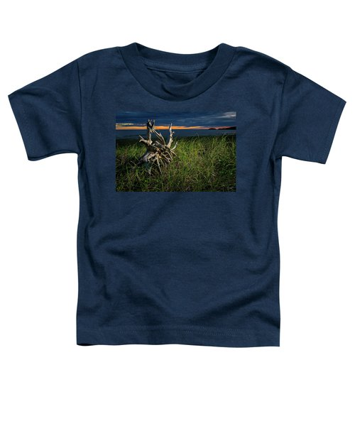 Toddler T-Shirt featuring the photograph Beached II by Doug Gibbons