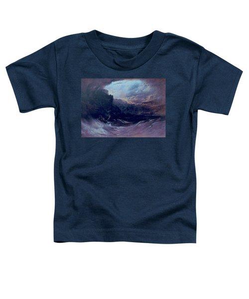 Christ Stilleth The Tempest Toddler T-Shirt