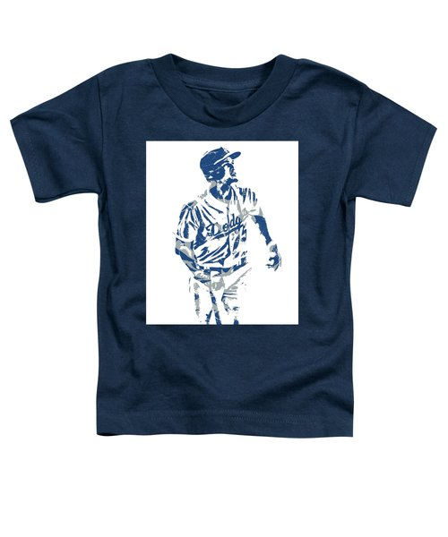 Corey Seager Los Angeles Dodgers Pixel Art 10 Toddler T-Shirt