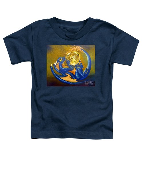 Dragon And Captured Fairy Toddler T-Shirt