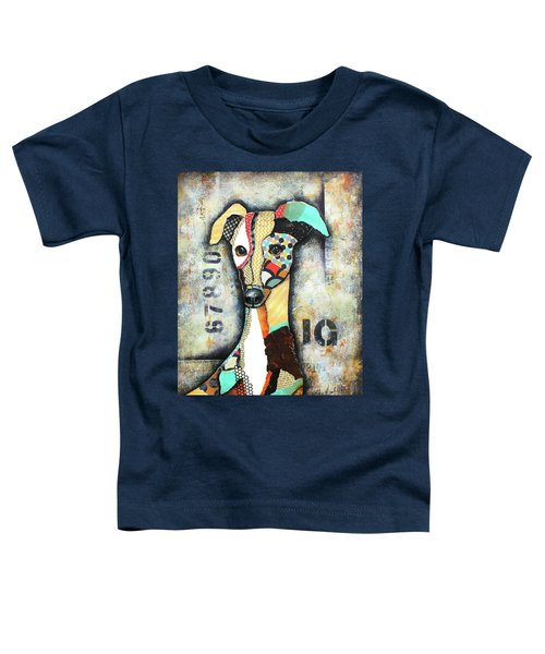 Italian Greyhound Toddler T-Shirt