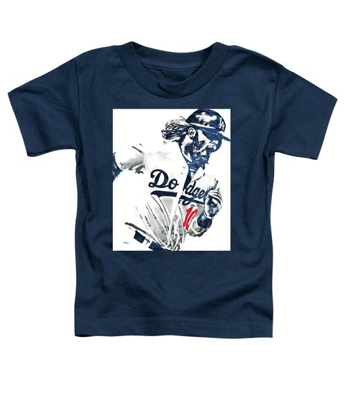 Justin Turner Los Angeles Dodgers Pixel Art Toddler T-Shirt