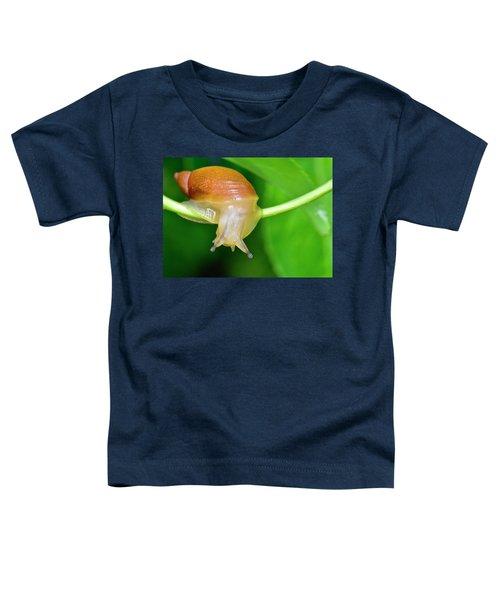 Morning Snail Toddler T-Shirt