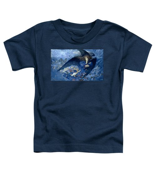 Night With Her Train Of Stars Toddler T-Shirt