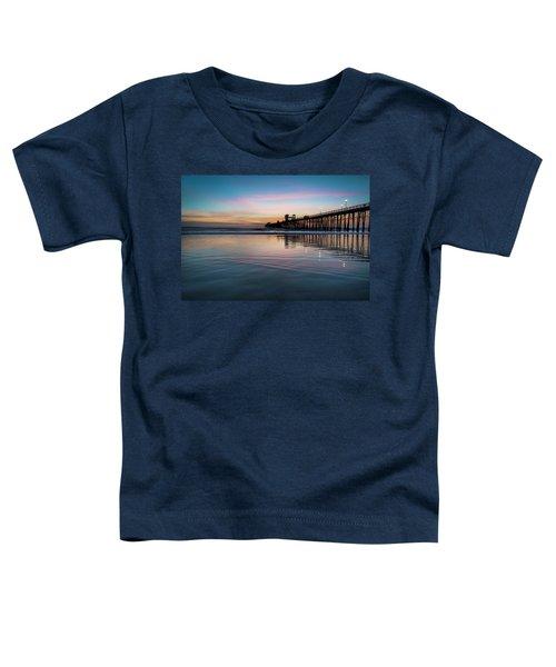 Oceanside Pier Sunset Toddler T-Shirt