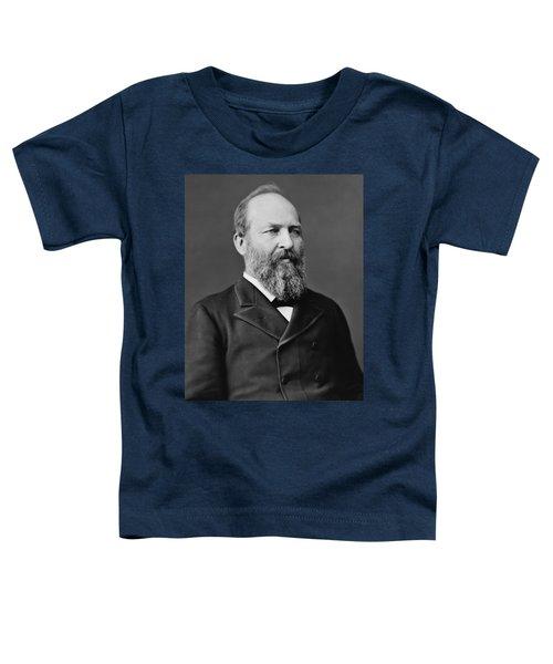 President James Garfield Photo Toddler T-Shirt