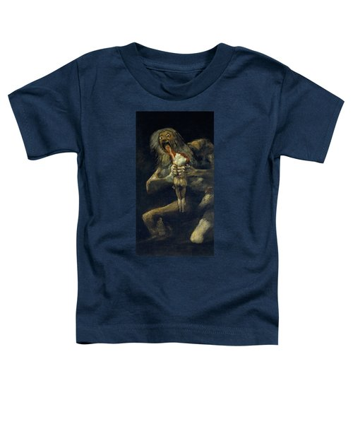 Saturn Devouring His Son Toddler T-Shirt
