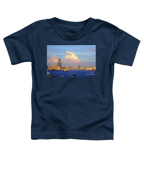 View Of Kaohsiung City At Sunset Time Toddler T-Shirt