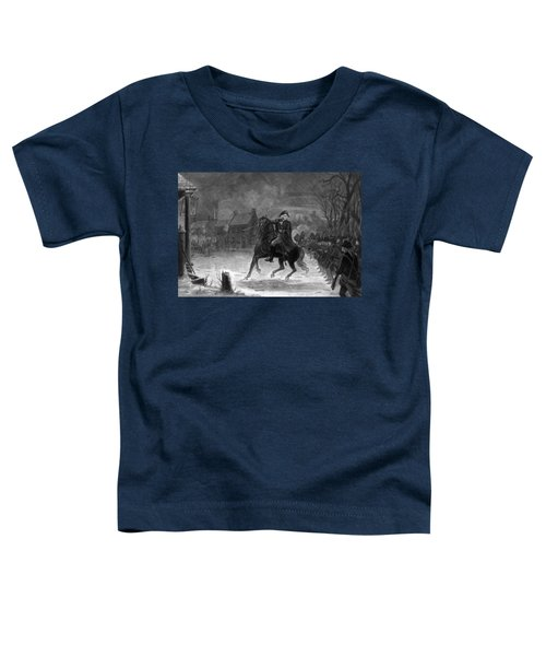 Washington At The Battle Of Trenton Toddler T-Shirt