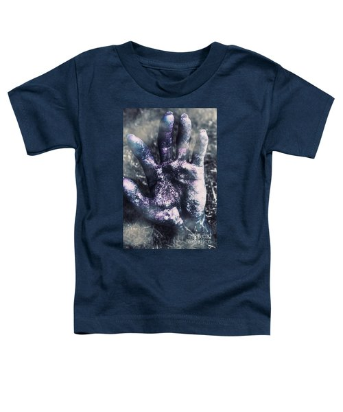 Zombie Rising From A Shallow Grave Toddler T-Shirt