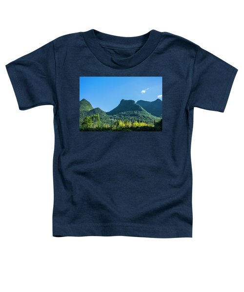 Countryside Scenery In Autumn Toddler T-Shirt