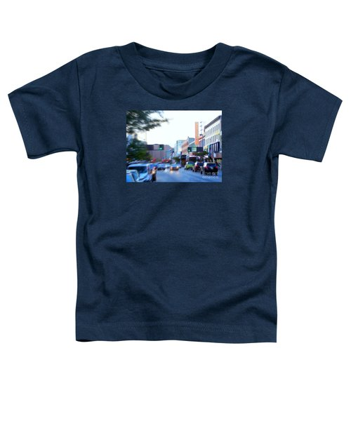 125th Street Harlem Nyc Toddler T-Shirt by Ed Weidman