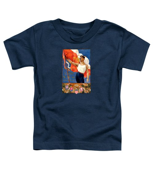 1921 Czech Sokol Of Chicago  Toddler T-Shirt by Historic Image