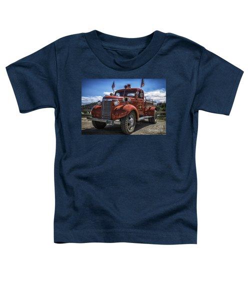 1940 Chevrolet Fire Truck  Toddler T-Shirt