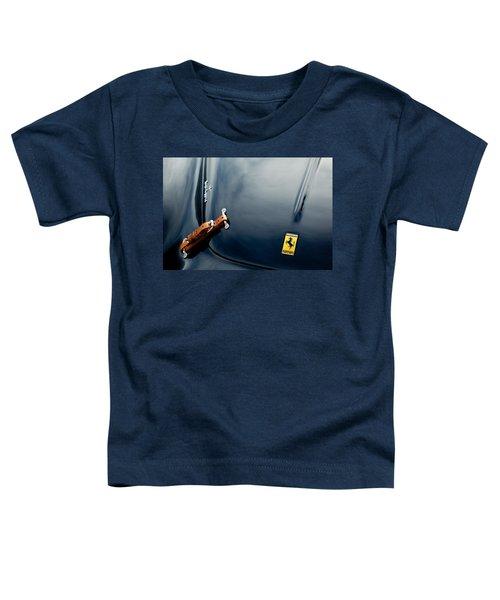 1950 Ferrari Hood Emblem Toddler T-Shirt
