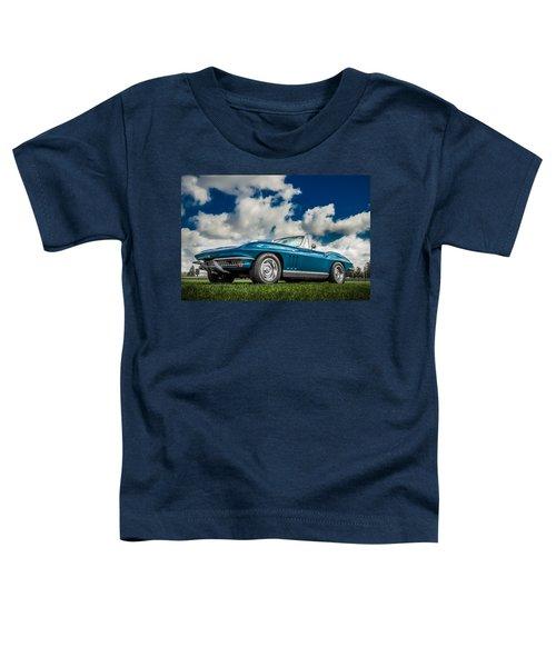 1966 Corvette Stingray  Toddler T-Shirt
