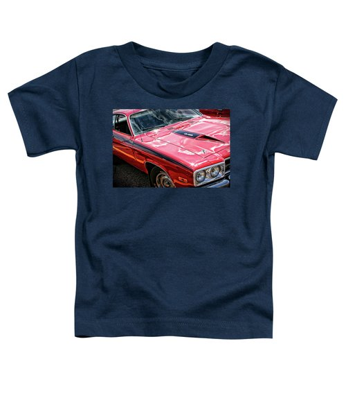 1974 Plymouth Road Runner 340 Toddler T-Shirt