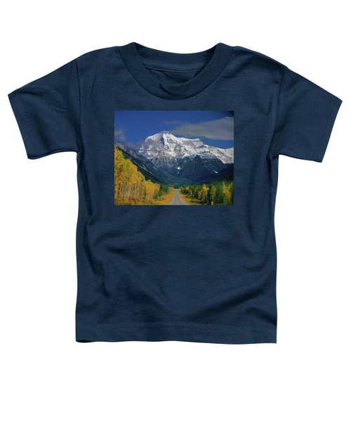 1m2441-h Mt. Robson And Yellowhead Highway H Toddler T-Shirt