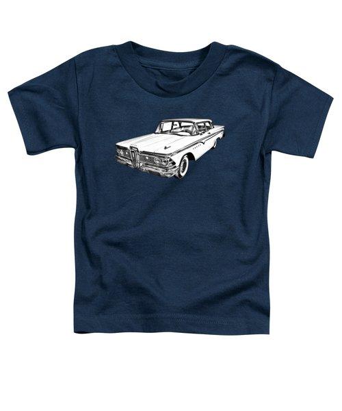 1959 Edsel Ford Ranger Illustration Toddler T-Shirt