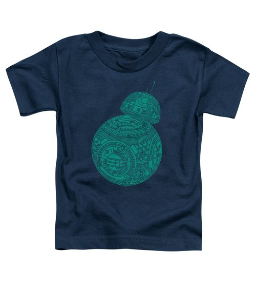 Bb8 Droid - Star Wars Art, Blue Toddler T-Shirt