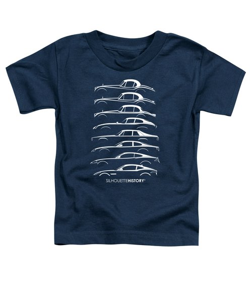 Big Cat Coupe Silhouettehistory Toddler T-Shirt