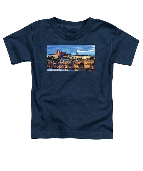 Charles Bridge And Prague Castle / Prague Toddler T-Shirt