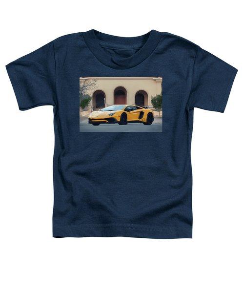 #lamborghini #aventadorsv #superveloce #print Toddler T-Shirt