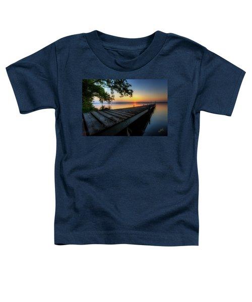 Sunrise Over Cayuga Lake Toddler T-Shirt