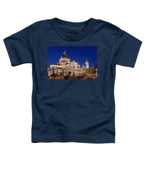 The Almudena Cathedral Toddler T-Shirt