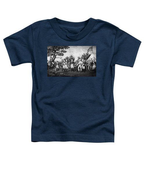 The Surrender Of General Burgoyne Toddler T-Shirt