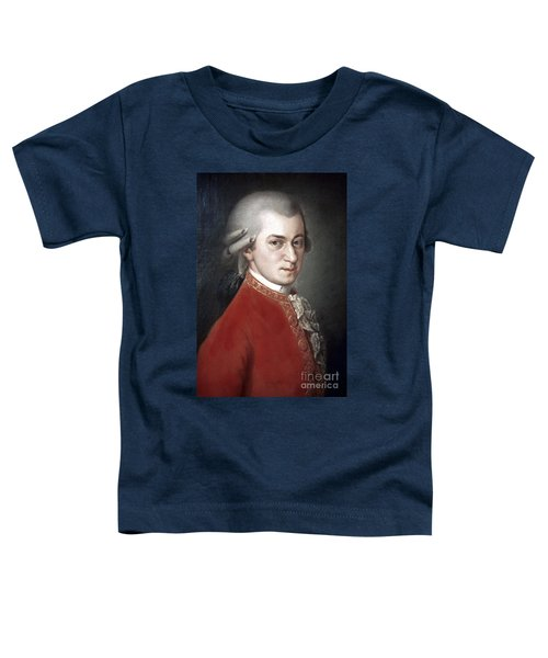 Wolfgang Amadeus Mozart Toddler T-Shirt
