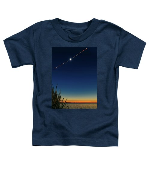 Toddler T-Shirt featuring the photograph 2017 Great American Eclipse by Greg Norrell