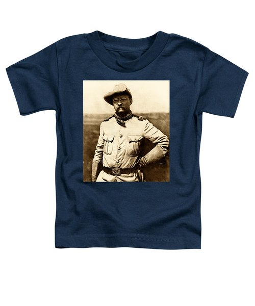 Colonel Theodore Roosevelt Toddler T-Shirt