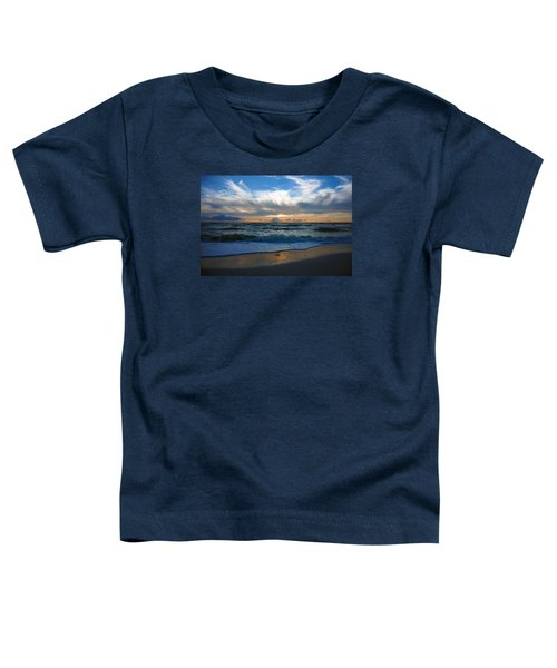 Sunset At Delnor-wiggins Pass State Park Toddler T-Shirt