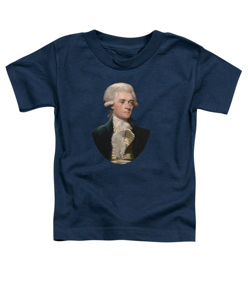 Thomas Jefferson - By Mather Brown Toddler T-Shirt